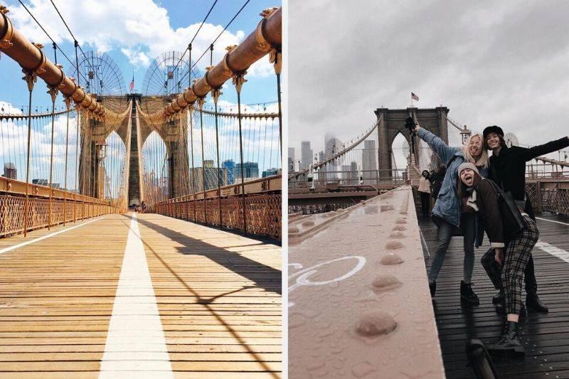 brooklyn bridge instagram vs reality