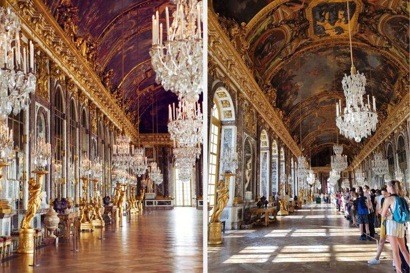 hall of mirrors palais de versailles