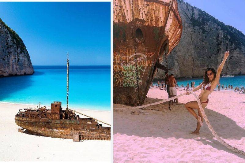 shipwreck beach navagio greece