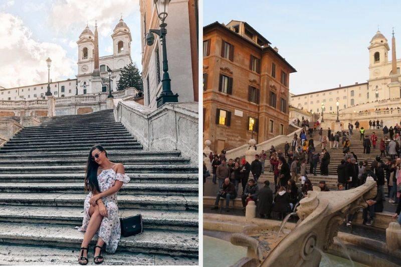 spanish steps rome instagram vs reality