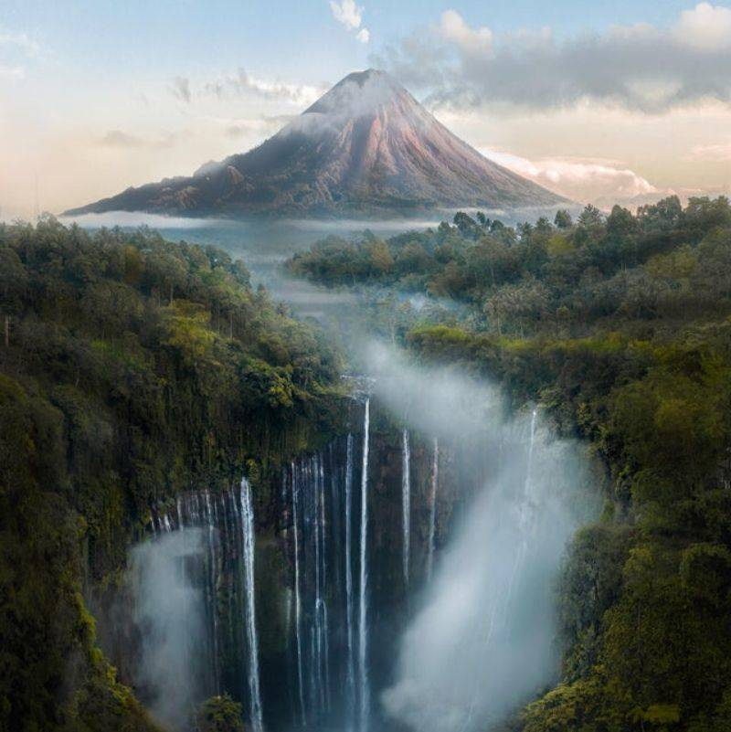mountains in Indonesia