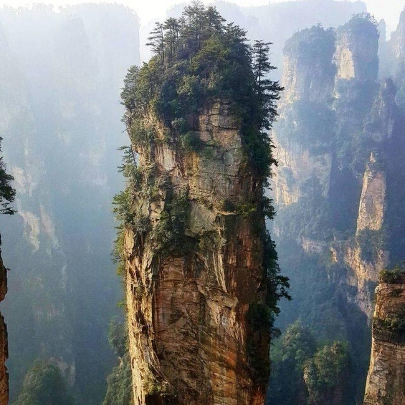 Zhangjiajie in China