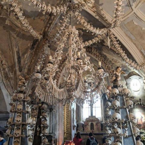 ossuary in the czech republic