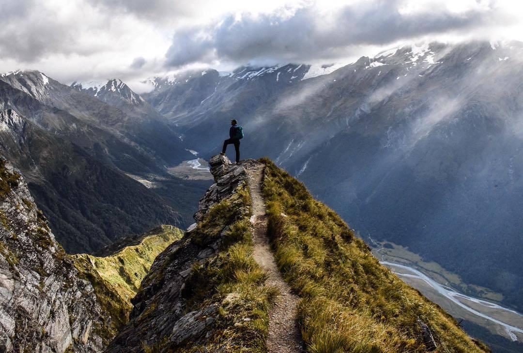 Cascade Saddle, New Zealand