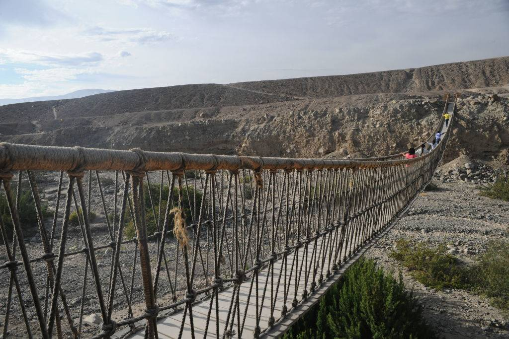 Keshwa Chaca (Q'eswachaka) Rope Bridge, Peru