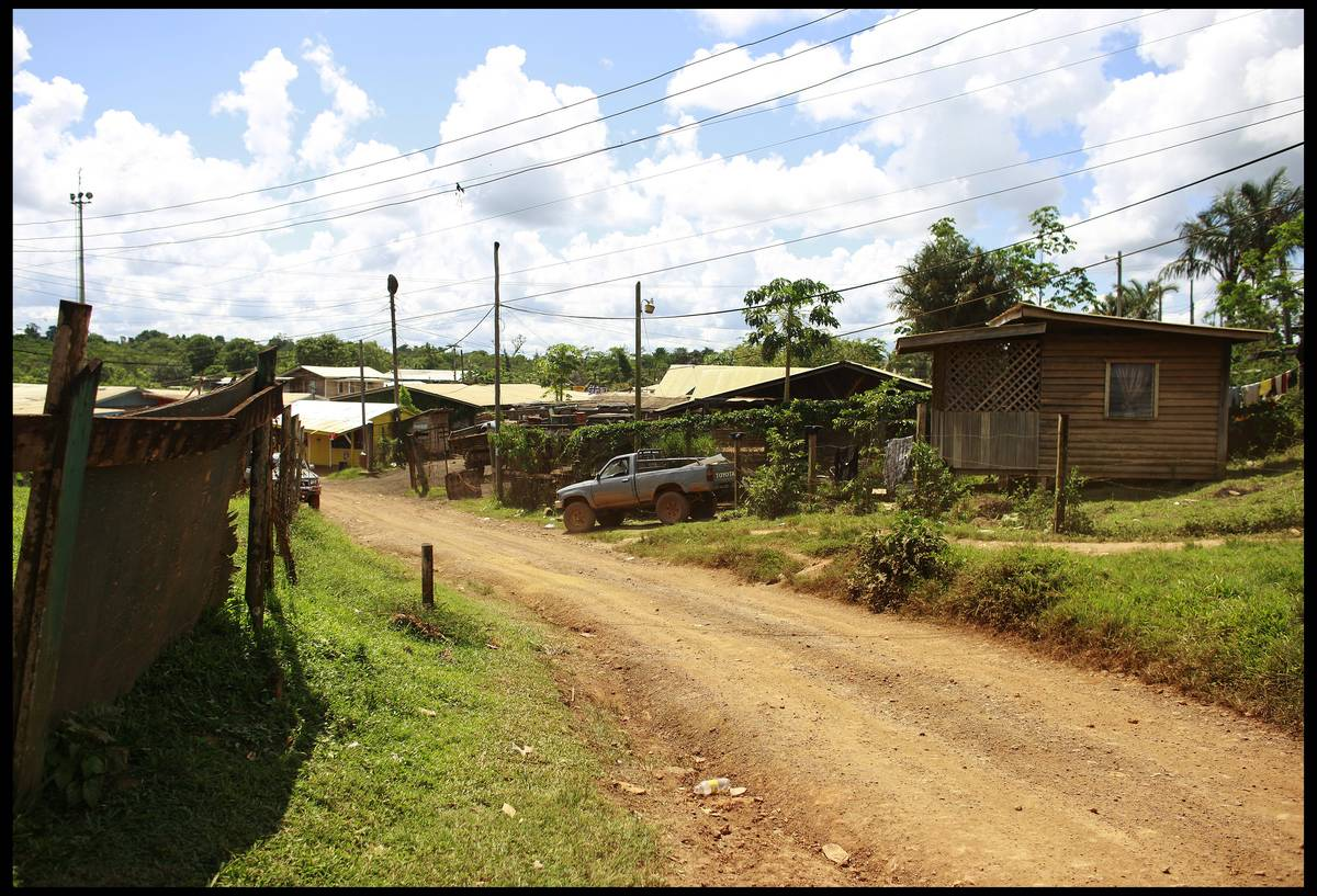 The jungle town of Port Kaituma, Guyana
