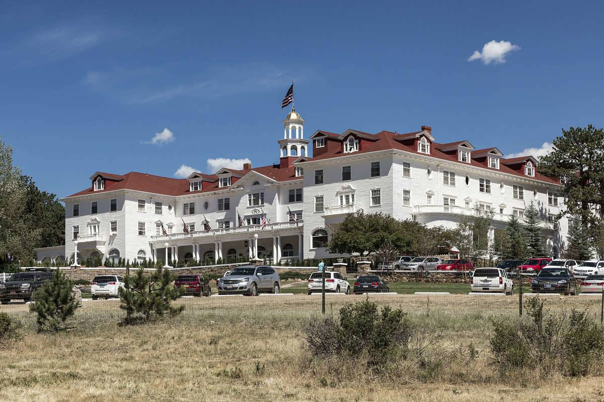 ESTES PARK, COLORADO, UNITED STATES - 2016/07/17: The historic Stanley Hotel.