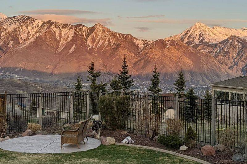 Suncrest Utah view from the window