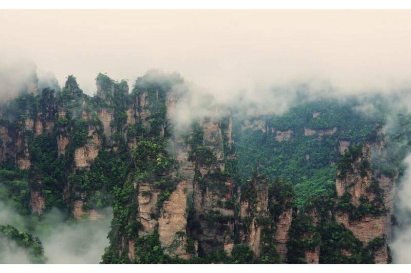 Tianzi Mountains china
