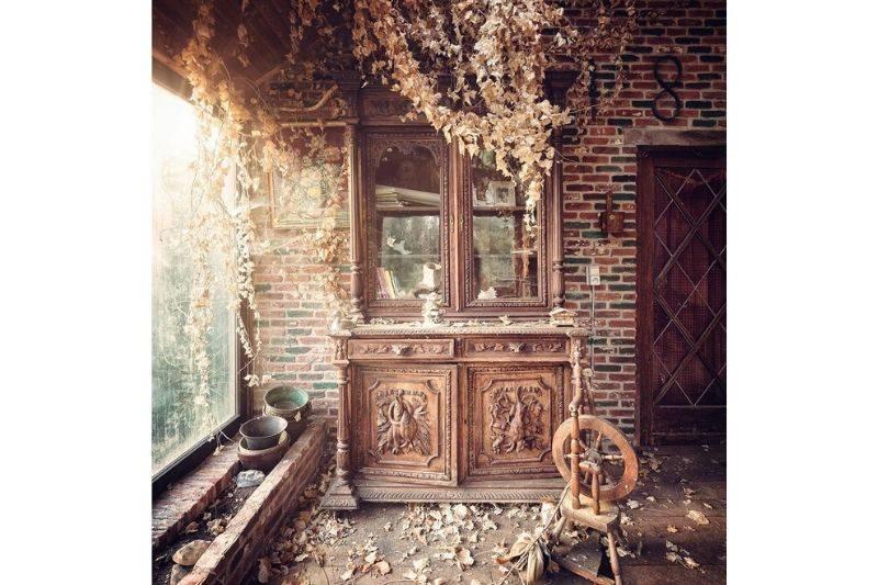 abandoned farmhouse in belgium