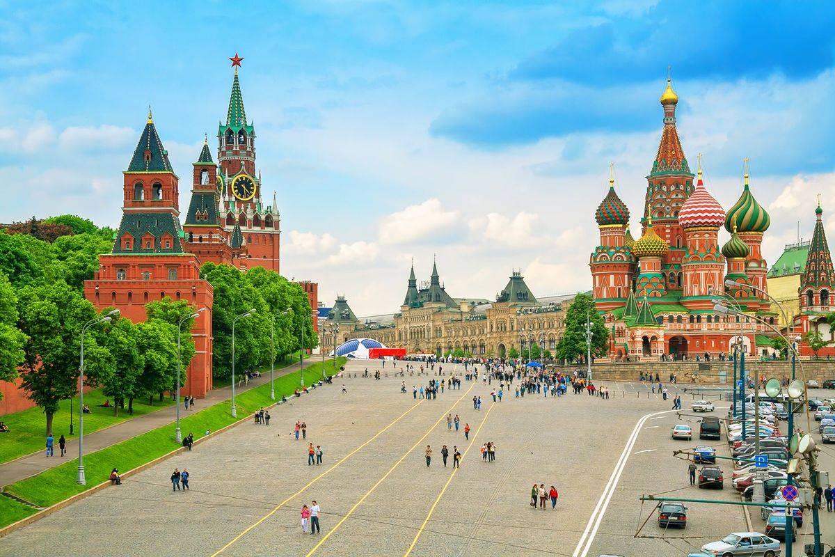 moscow red square kremlin