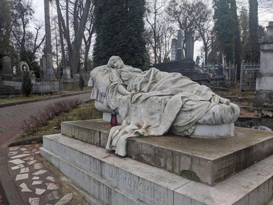 Grave of Józefina Markowska