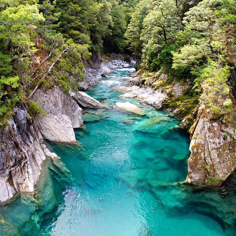 new zealand blue pools