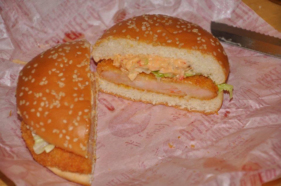 Ebi Filet-O Shrimp Burger