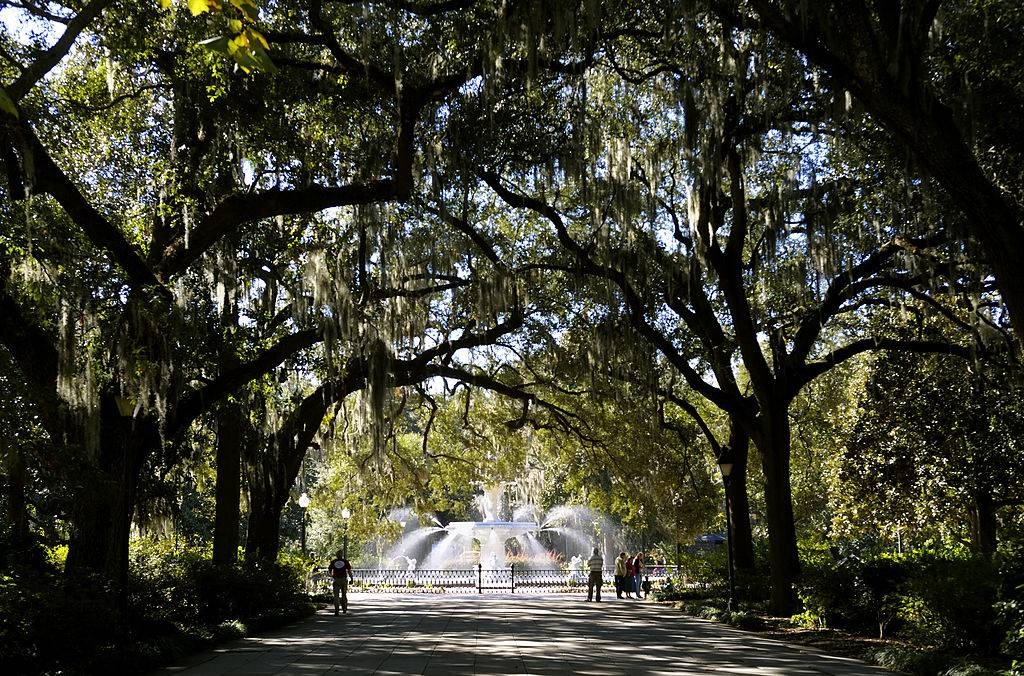 a picture of Forsyth Park