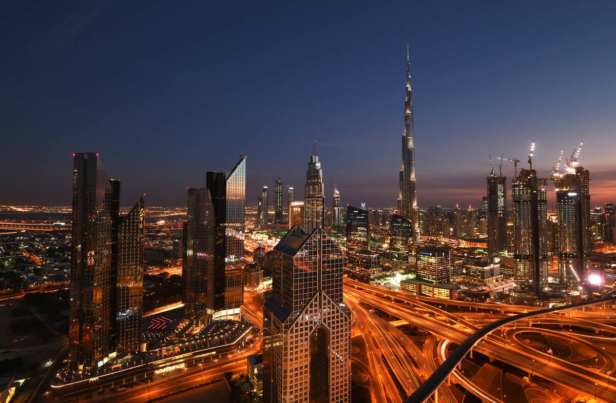 A general view of Burj Khalifa