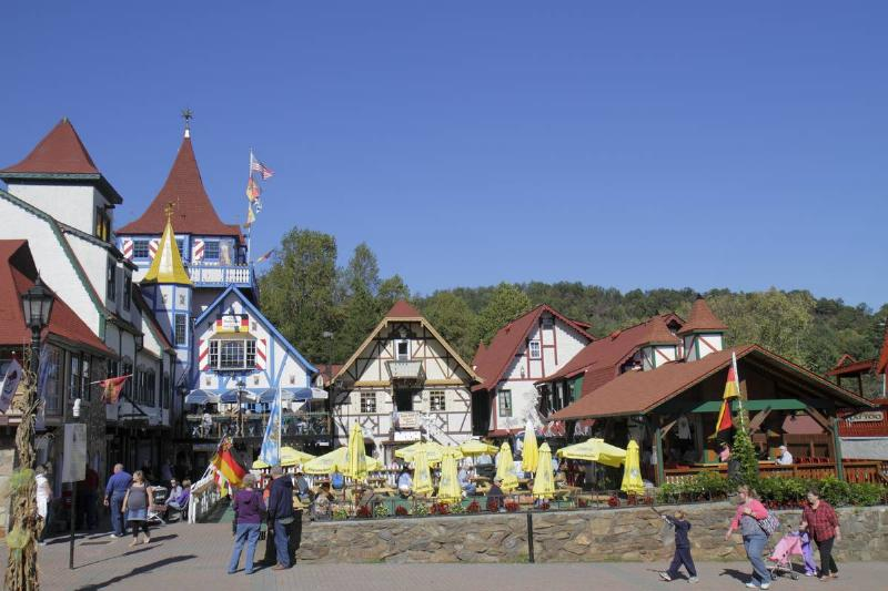 German alpine village theme in Helen