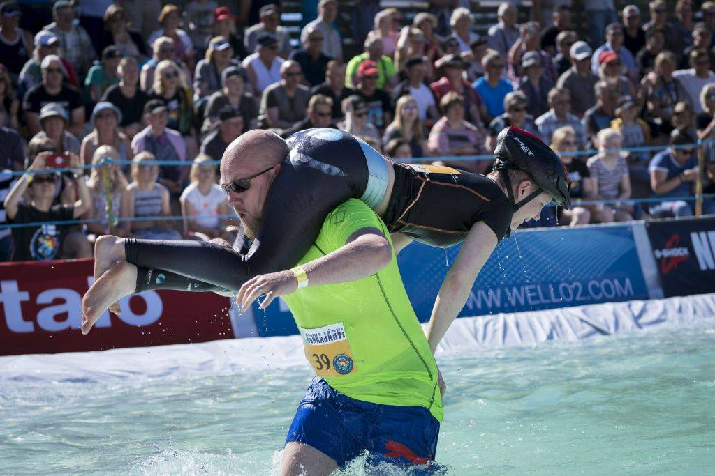 Wife Carrying World Championship