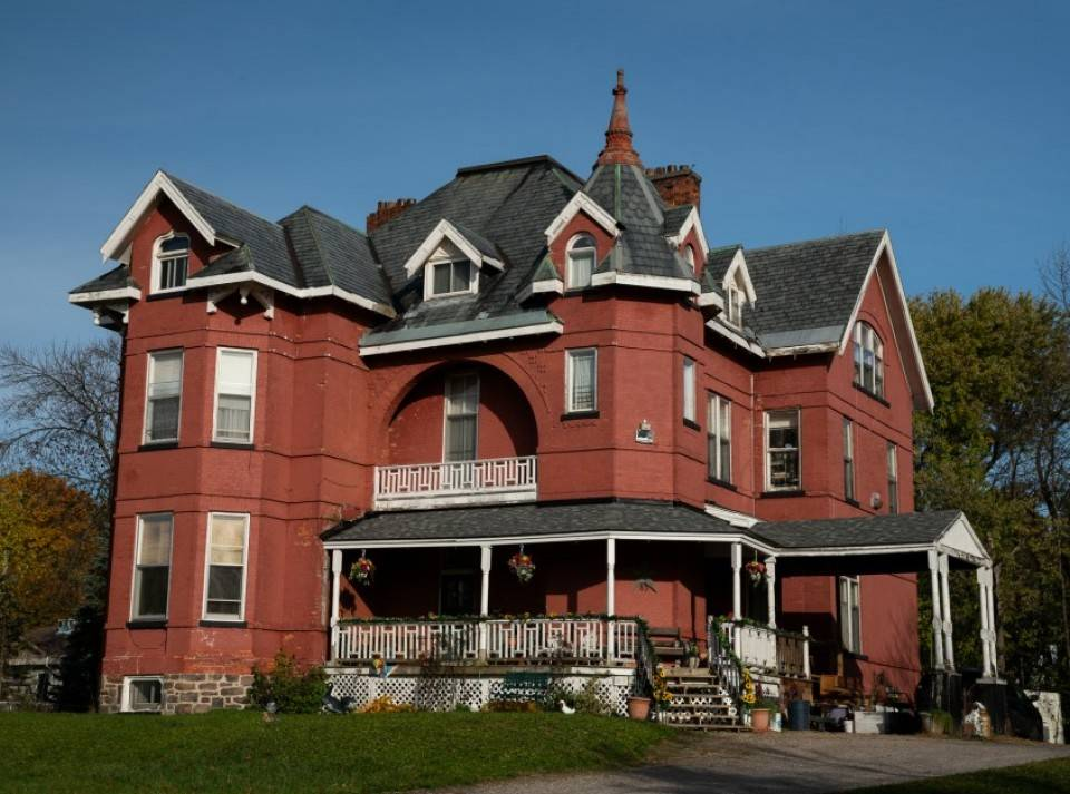 The Carl Beck House in Ontario