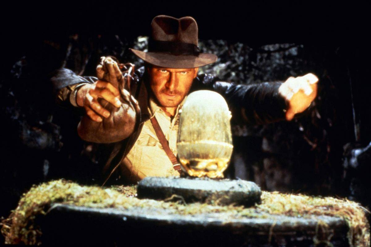 a still from Raiders of the Lost Ark