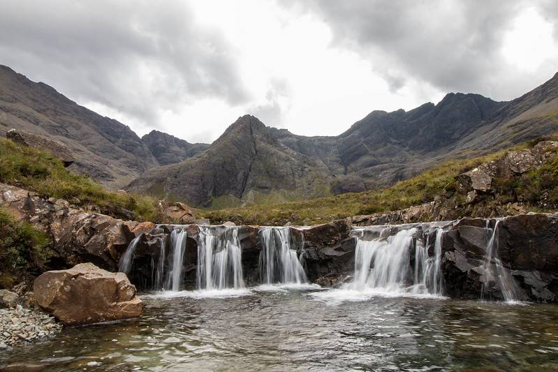 isle of skye scotland fairy pools