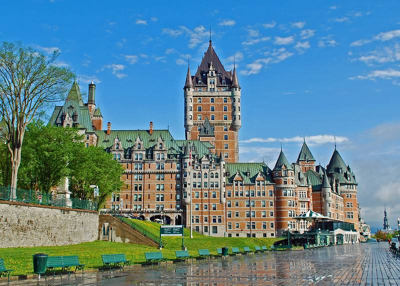 quebec city canada chateau frontenac