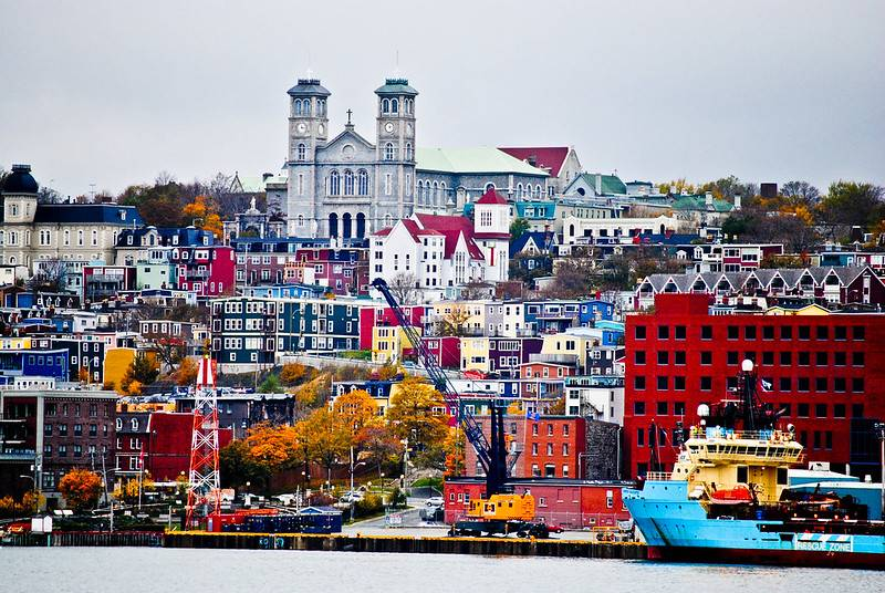 St John's Newfoundland harbour