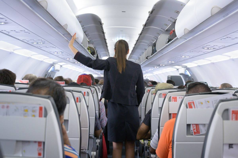 portuguese airline flight attendant