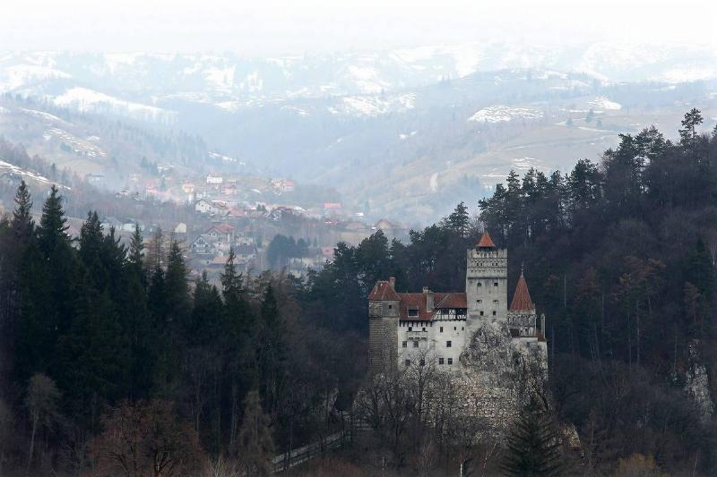 Bran Castle, famous as