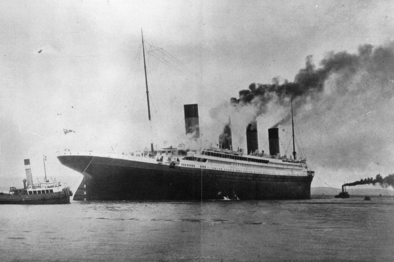 1,500,000 luxury White Star liner 'Titanic