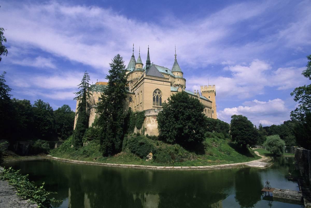 slovakia's bojnice castle