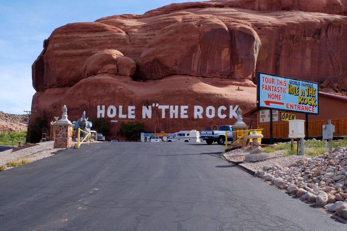 moab utah hole n the rock