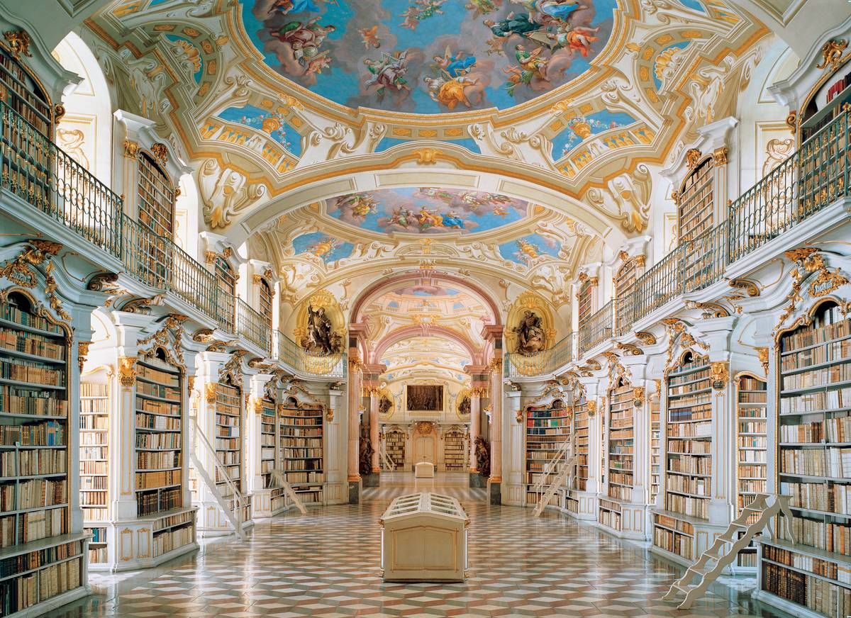 admont austria abbey library