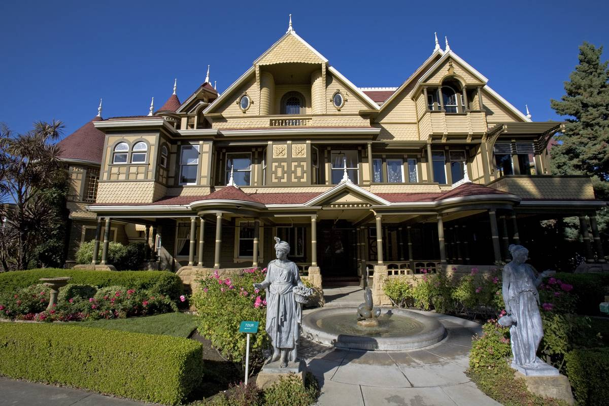 winchester mystery house california
