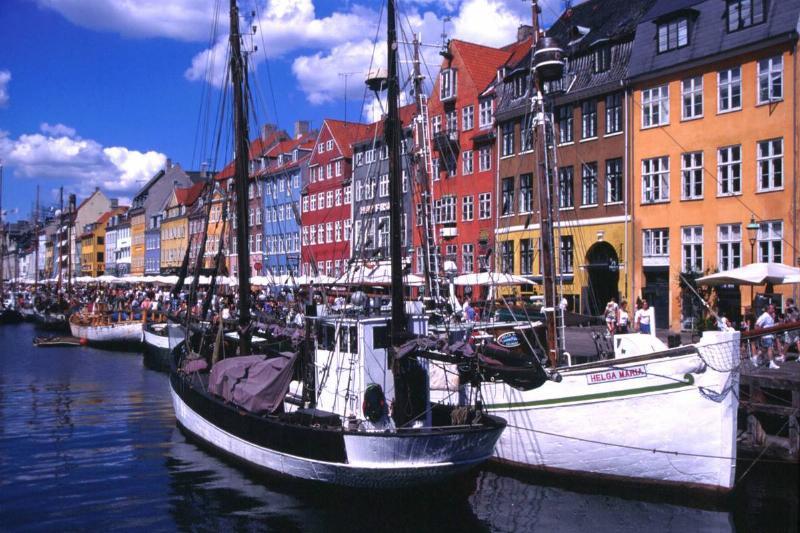 Nyhavn is part of the original Copenhagen Harbor