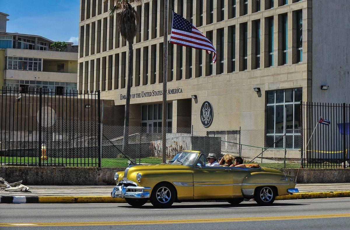 Havana cuba US embassy
