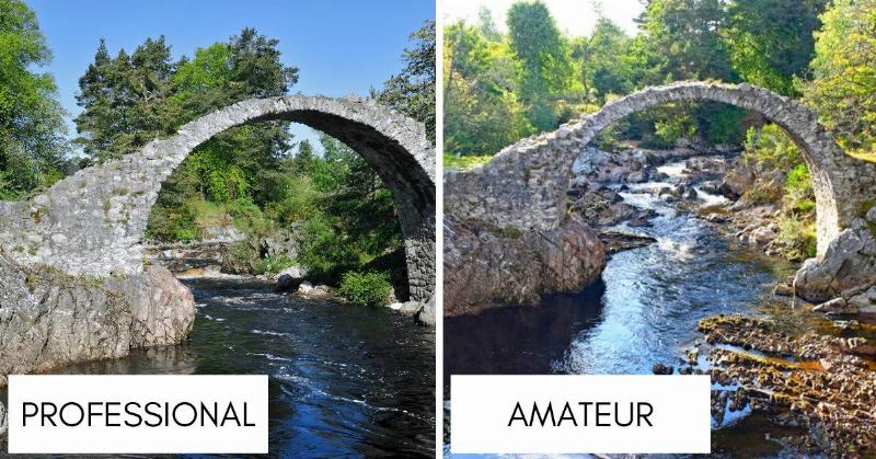 300 year old carrbridge goes over stream and is made of stone