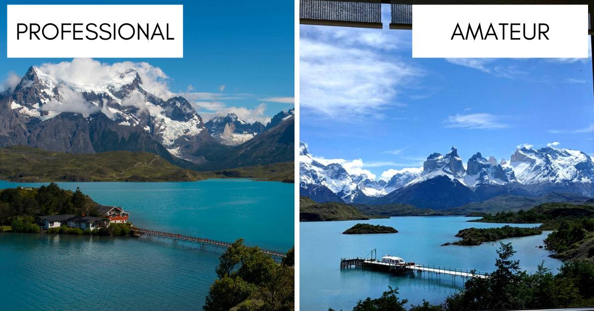 photos of patagonia are nearly identical