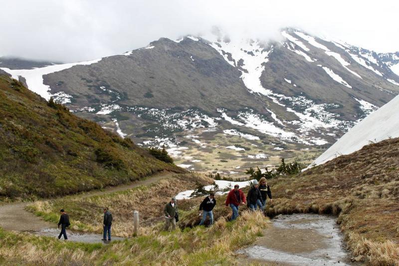 alaska flattop mountain