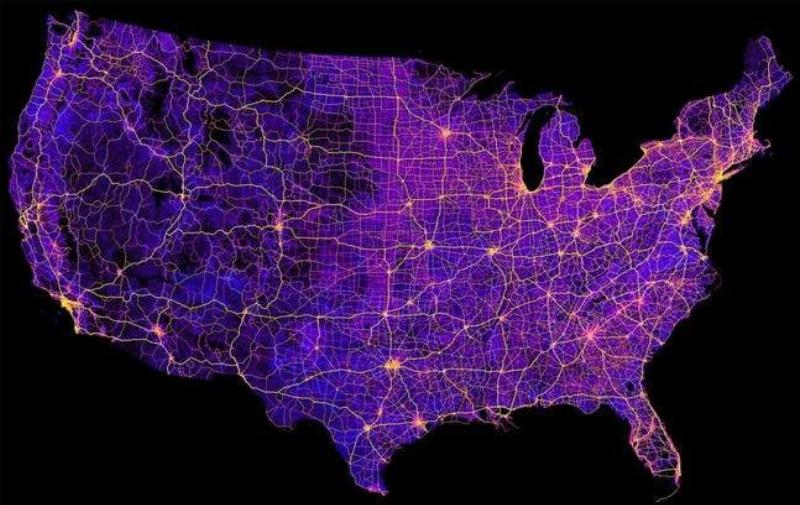 Eight Million Miles Of Highway In The United States