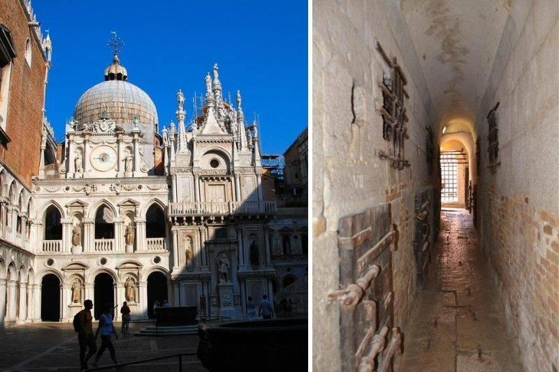 the hidden prison in Doge's Palace