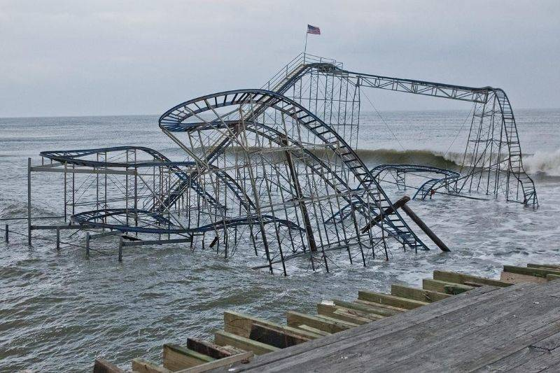 Star Jet rollercoaster in New Jersey
