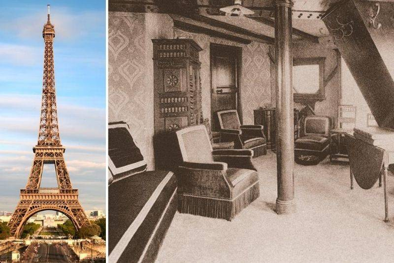 apartment hidden in Eiffel Tower