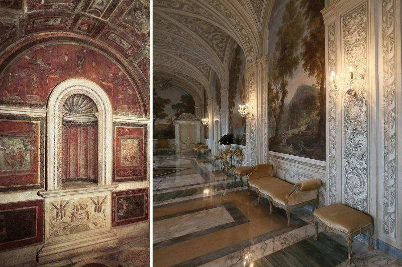 a secret bathroom in the Vatican