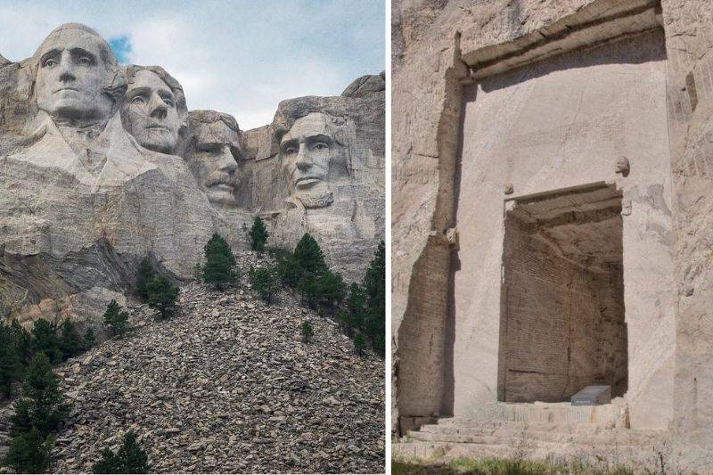 mount rushmore's hall of records