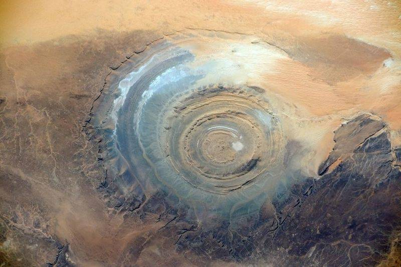 a picture of the Richat Structure