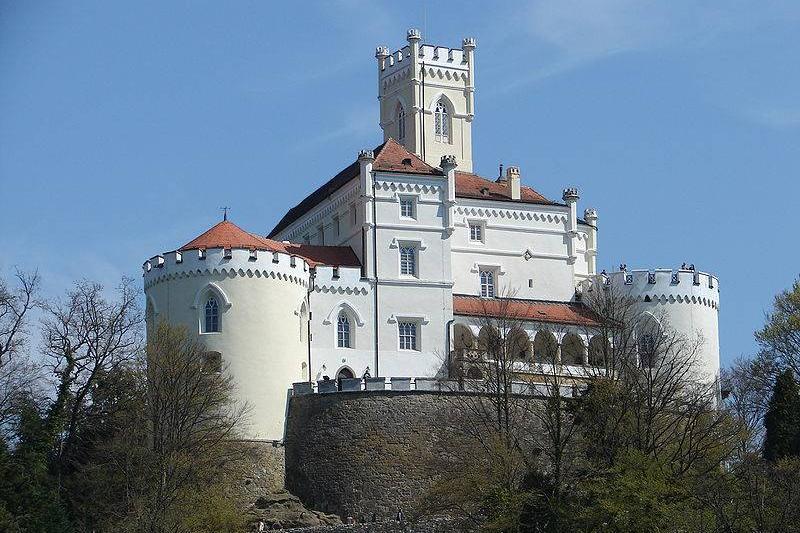 Trakošćan Castle croatia