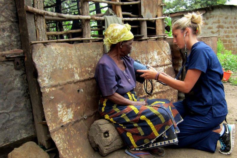 nurse who travels abroad