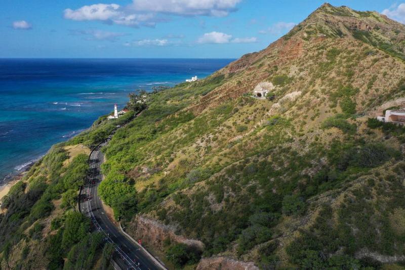 honolulu hawaii diamond head trail