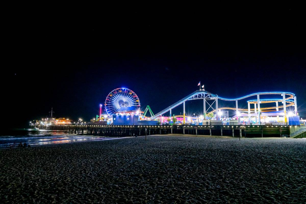 santa monica pier los angeles cali